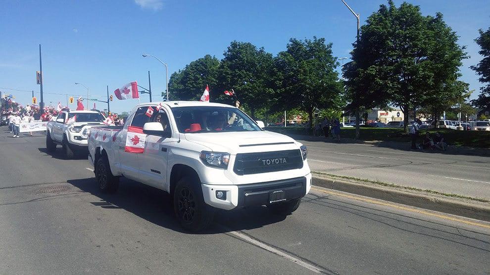 Brantford Toyota Celebrates Canada's 150th Birthday